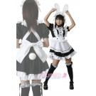 Lolita Bunny Rabbit Maid Dress Cosplay