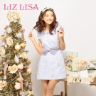 LIZ LISA Flower Ribbon Dress