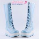 Sweet Scallop Platform Boots