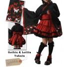 Japanese Gothic Lolita Furisode Yukata