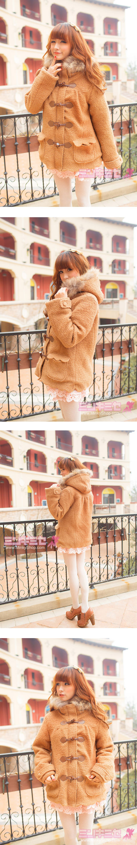 cute woodland winter coat