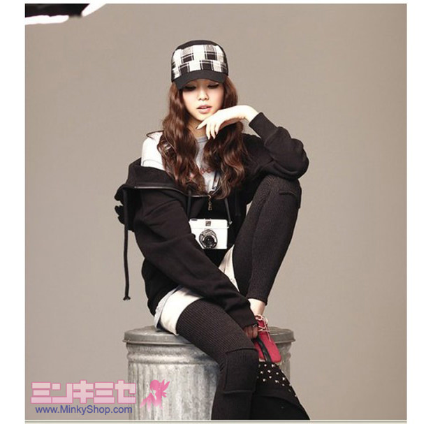 Korean Star Angel Wing Hoodie