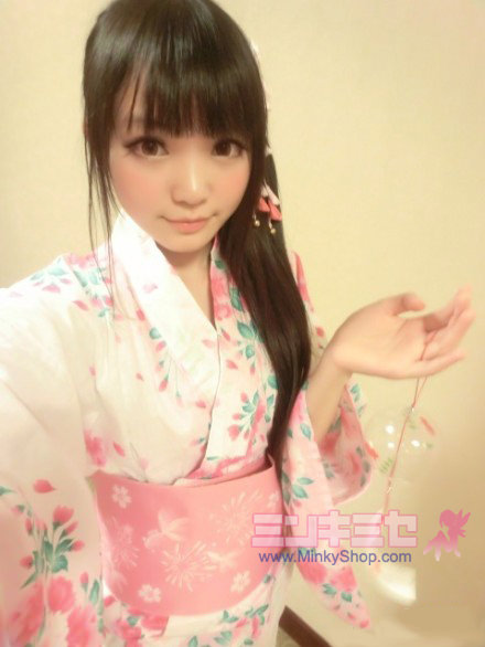 Lena Fujii Sakura Yukata Set