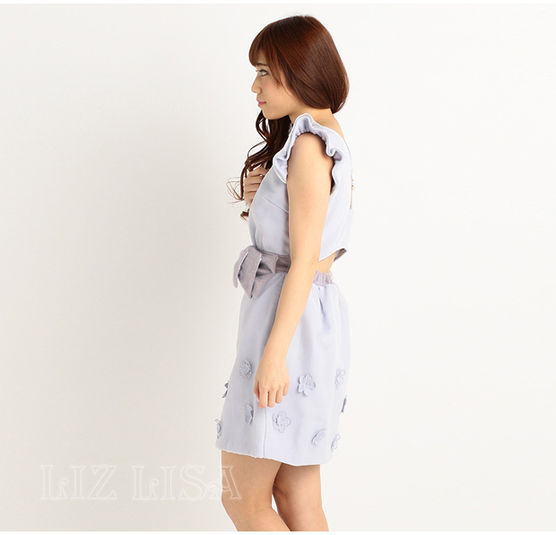 Special Liz Lisa Flower Ribbon Dress