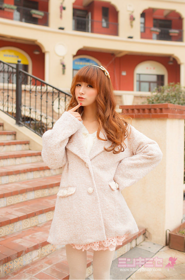 Sweet Oversized Boyfriend Coat