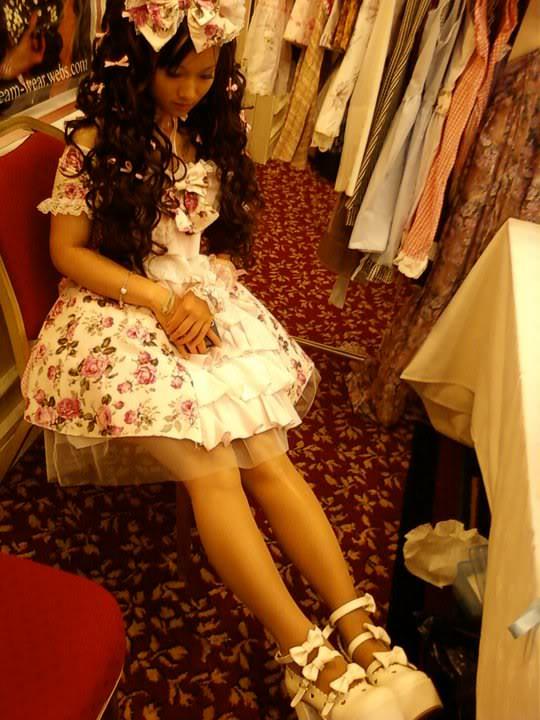 Princess Lolita Triple Bow Shoes