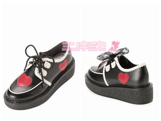Harajuku Love Platform Shoes