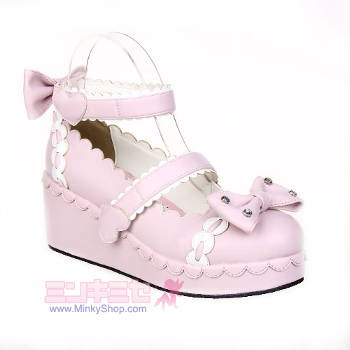Lolita Love Decoration Shoes