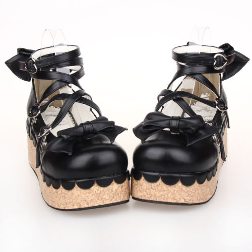 Princess Cork Lolita Shoes