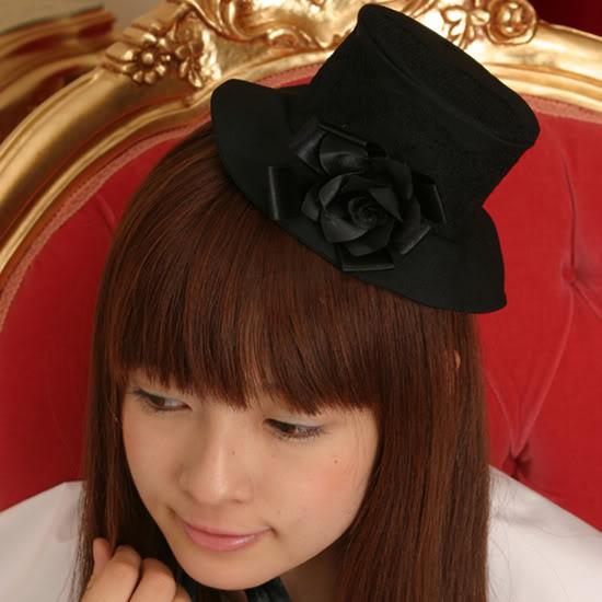 Elegant Gothic Lolita Hat