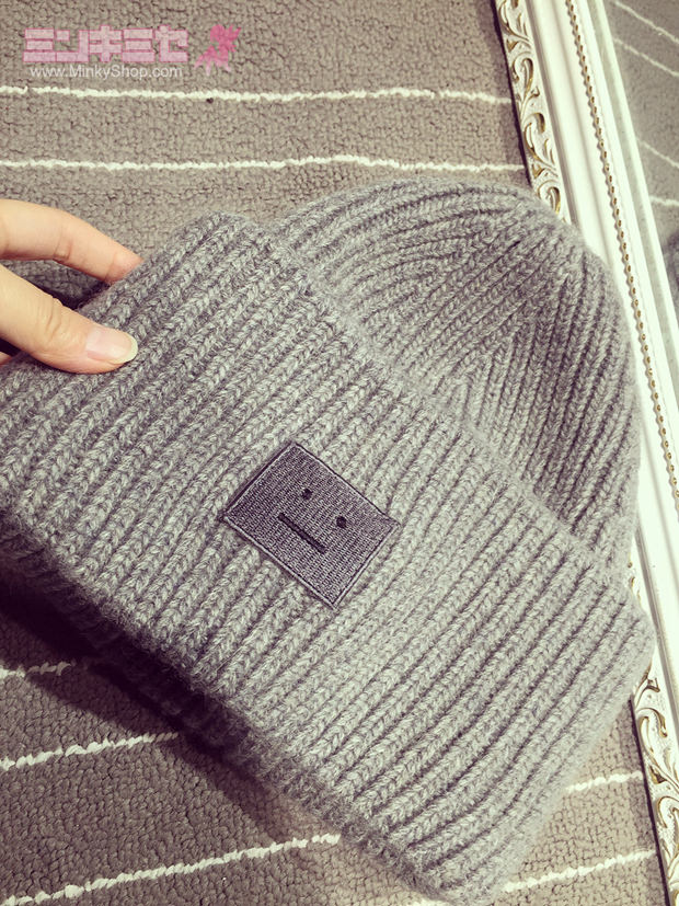 Woolly Beanie Knitted Hat Unisex